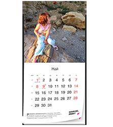 Календарь на скрепке - бестселлер 2018 года